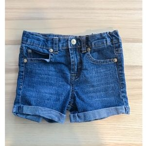 7 for all Mankind Girls Denim Shorts - Size 2T